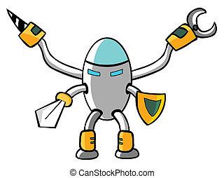 Caballero robot