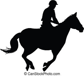 caballo, ecuestre, jinete