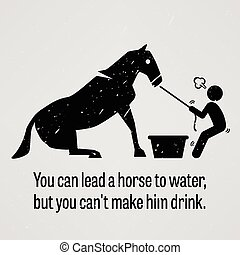 caballo, plomo, pero, agua, lata, y, usted