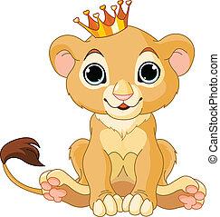 Caballo rey león