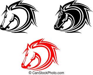 caballos, tatuaje