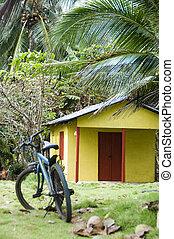 Cabana alquilada, nicaragua de la selva