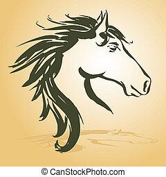 Cabeza de caballo