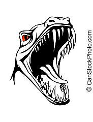 Cabeza de Tiranosaurio