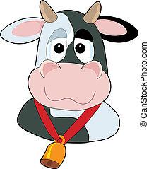 Cabeza de vaca tonta