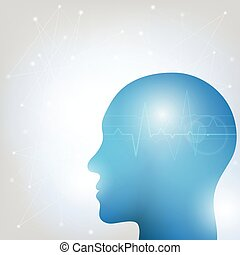 Cabeza humana y cerebro-2