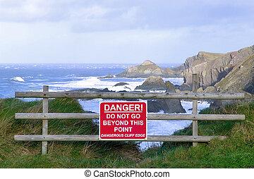 Cable peligroso