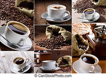 Café collage