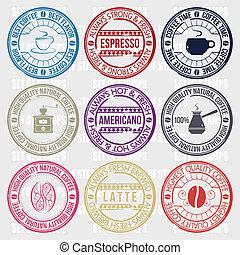 Café con sellos