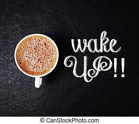 café, despiértese