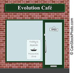café, evolución