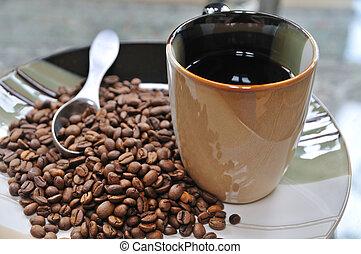 Café por la mañana