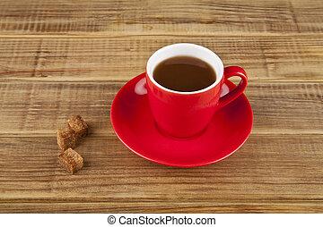 Café rojo
