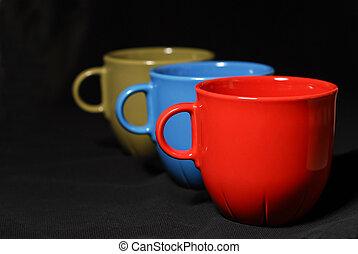 Cafés coloridos