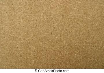 caja de cartón de papel, marrón
