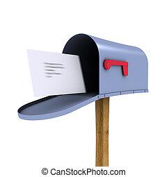 Caja de correo 3D