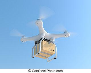 Caja de correo de drones