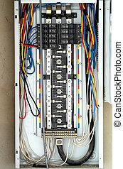 Caja de fusibles eléctricos