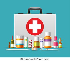 Caja de primeros auxilios
