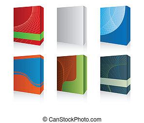Caja de software 3d