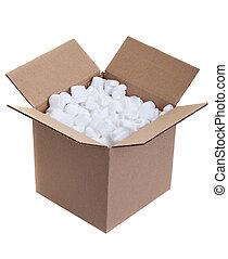 caja, embalaje