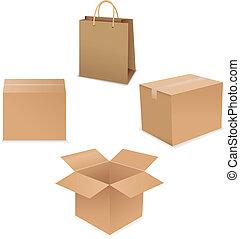 caja, envío