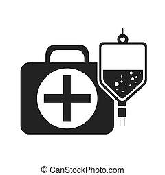 Caja médica Kit