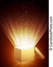 caja, magia