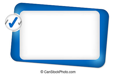 caja, marco, texto, resumen, entrar, cheque