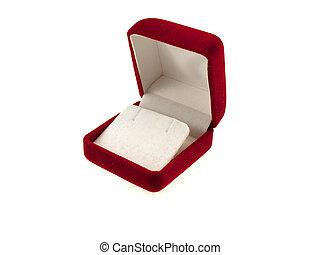 Caja para joyas aisladas