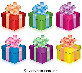 Cajas de regalos
