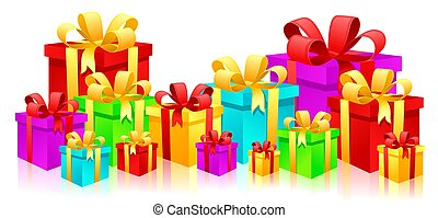 cajas, regalo