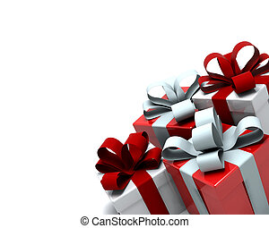 cajas, regalo de navidad