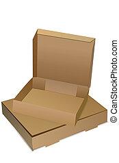 cajas, vacío