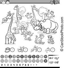 Calculando actividad animal