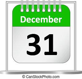 Calendar %u2013 de diciembre 31