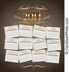 Calendario del año 2014