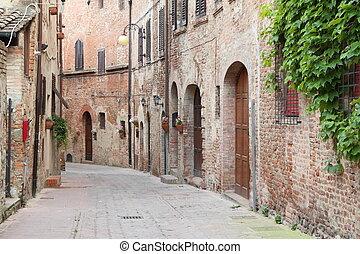 Calle Antigüedad en Italia