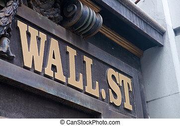 Calle de la pared de Nueva York