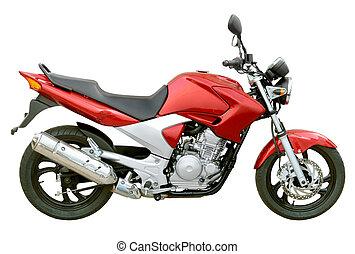 calle, motocicleta