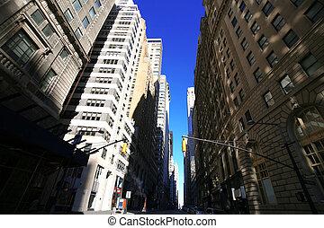 Calle NY clásica, Manhattan