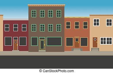 calle principal, seamless