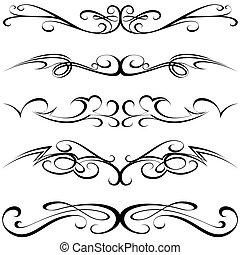 calligraphic, tatuaje