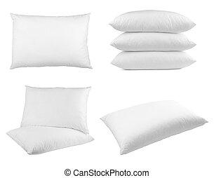 Cama de cama de almohada durmiendo