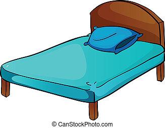 Cama y almohada
