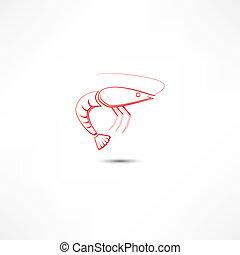 camarón, icono