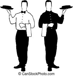 camarero, resturant