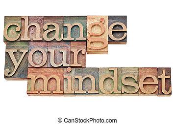 Cambia de opinión