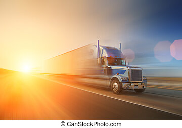 Camión en la carretera