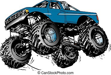 Camión Monstor